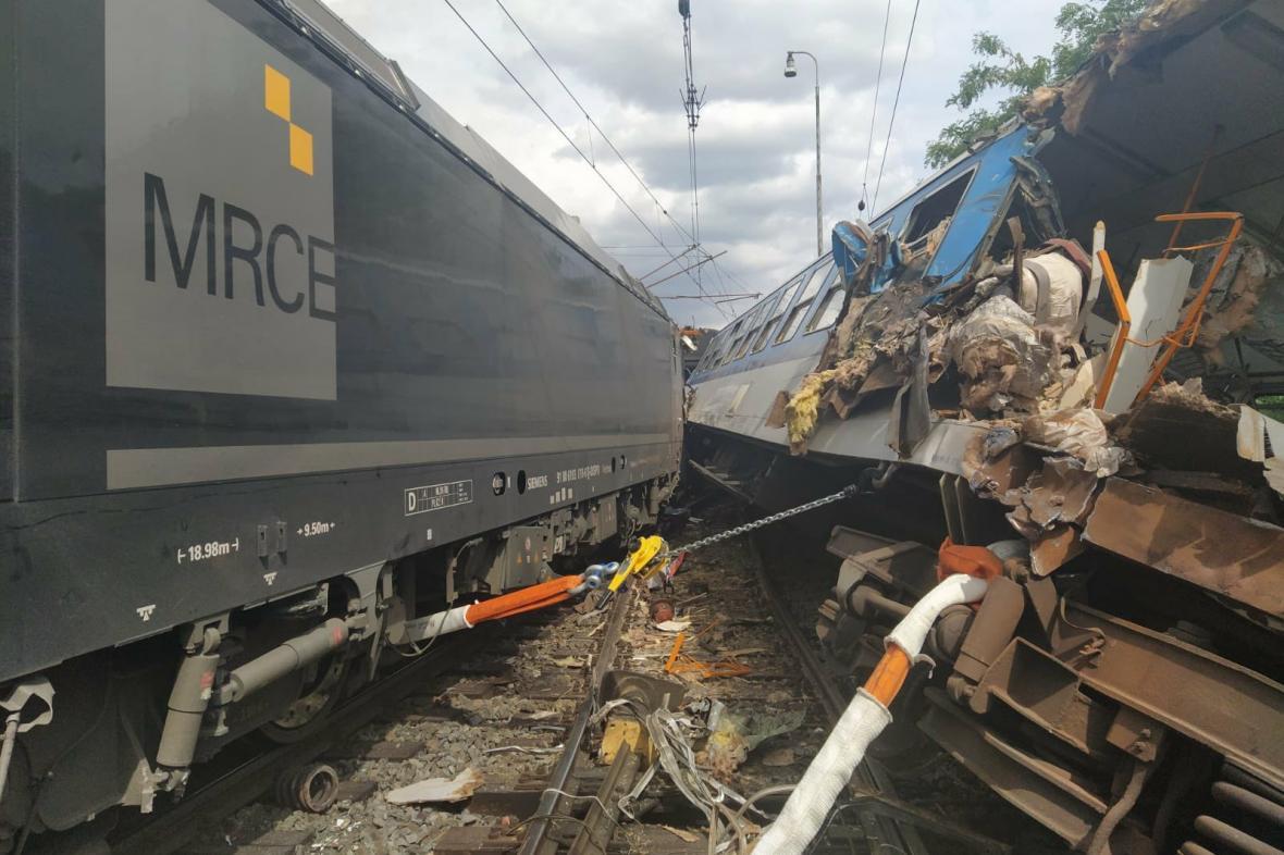 Srážka vlaků v Němčicích nad Hanou