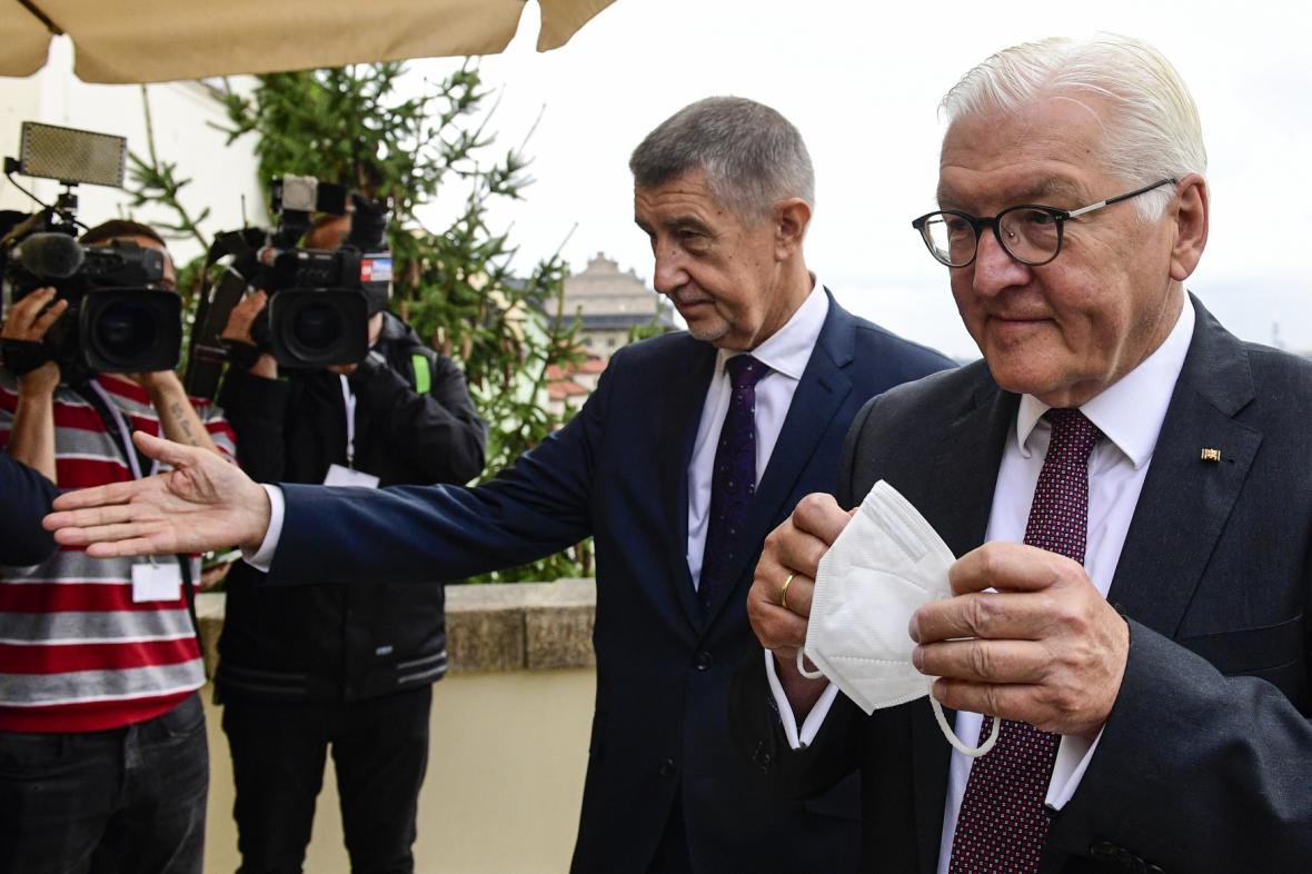 Frank-Walter Steinmeier s Andrejem Babišem