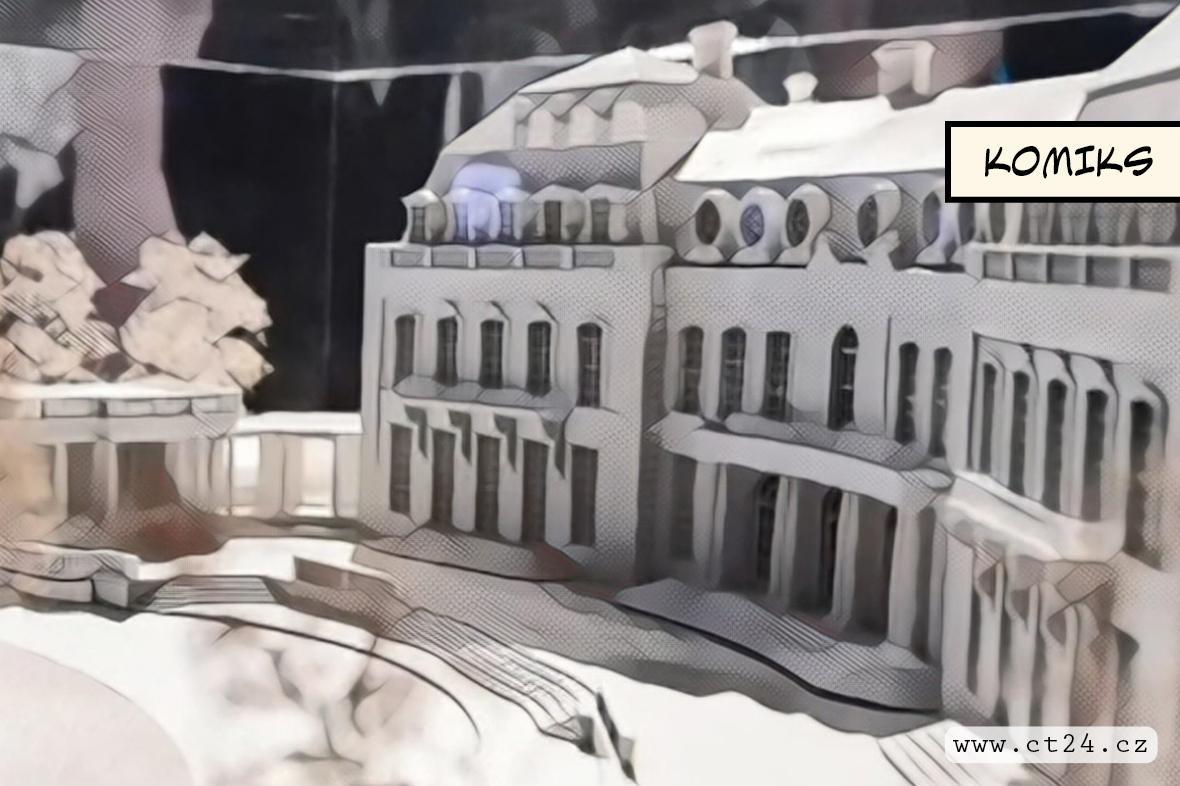 Jízdárna Pražského hradu láká na velkou výstavu o tuzemské architektuře