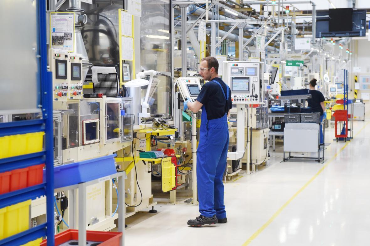 Průmysl v Česku