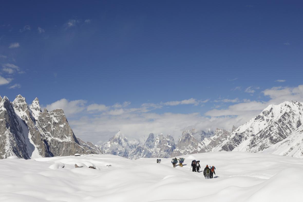Pohoří Karákóram v Pákistánu