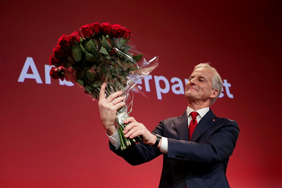 Jonas Gahr Störe bude novým premiérem Norska