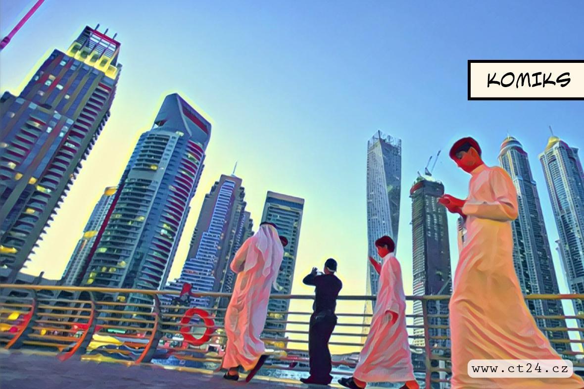 Proměna Dubaje