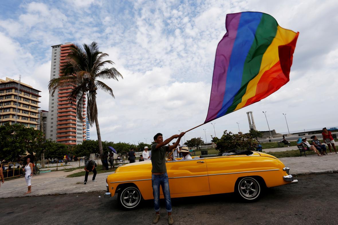 V Havaně se každý rok odehrává pochod proti homofobii