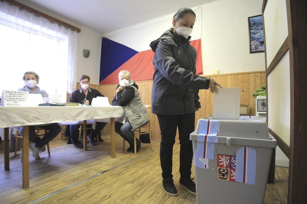 Volby v obci Sedlečko u Soběslavě na Táborsku