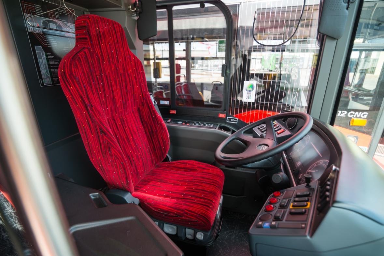 Autobus MHD v Českých Budějovicích