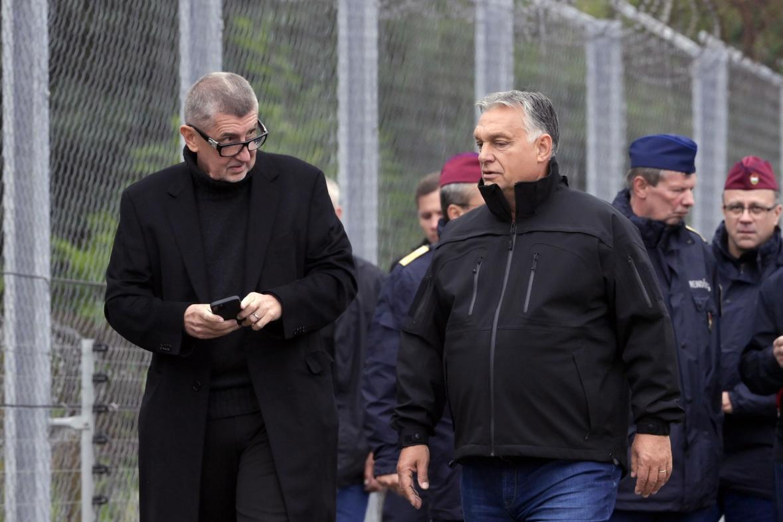 Andrej Babiš (ANO) a Viktor Orbán