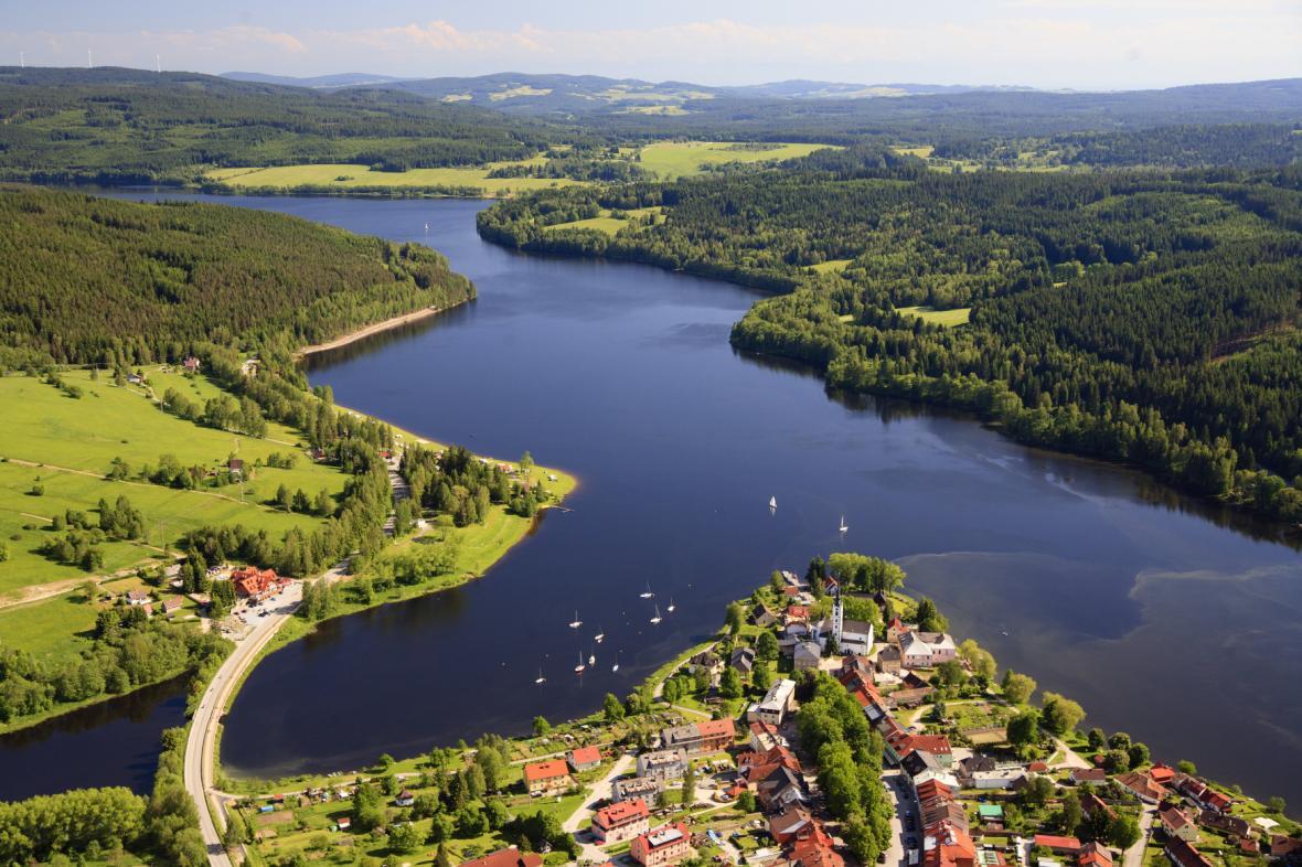 Lipenská přehrada (Frymburk)