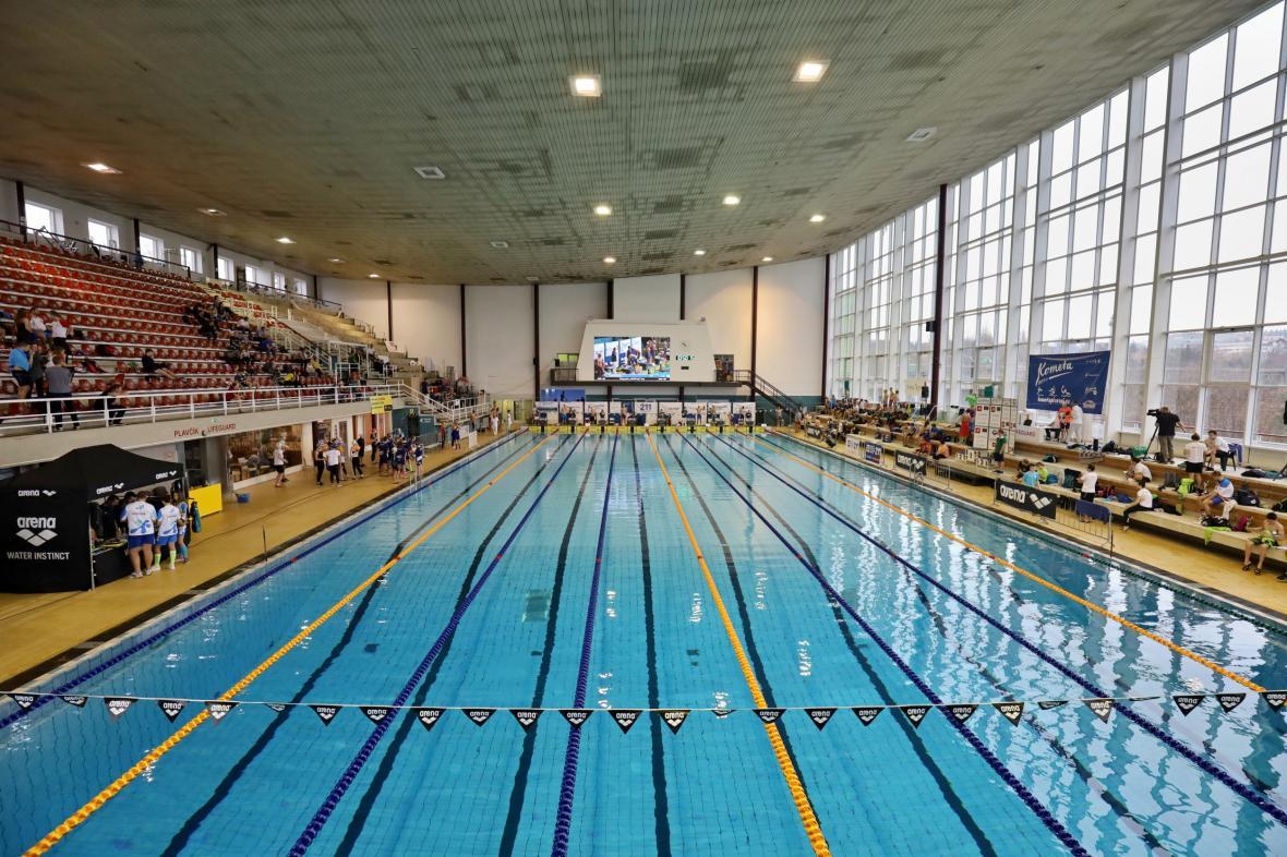 Plavecký bazén v brněnských Lužánkách