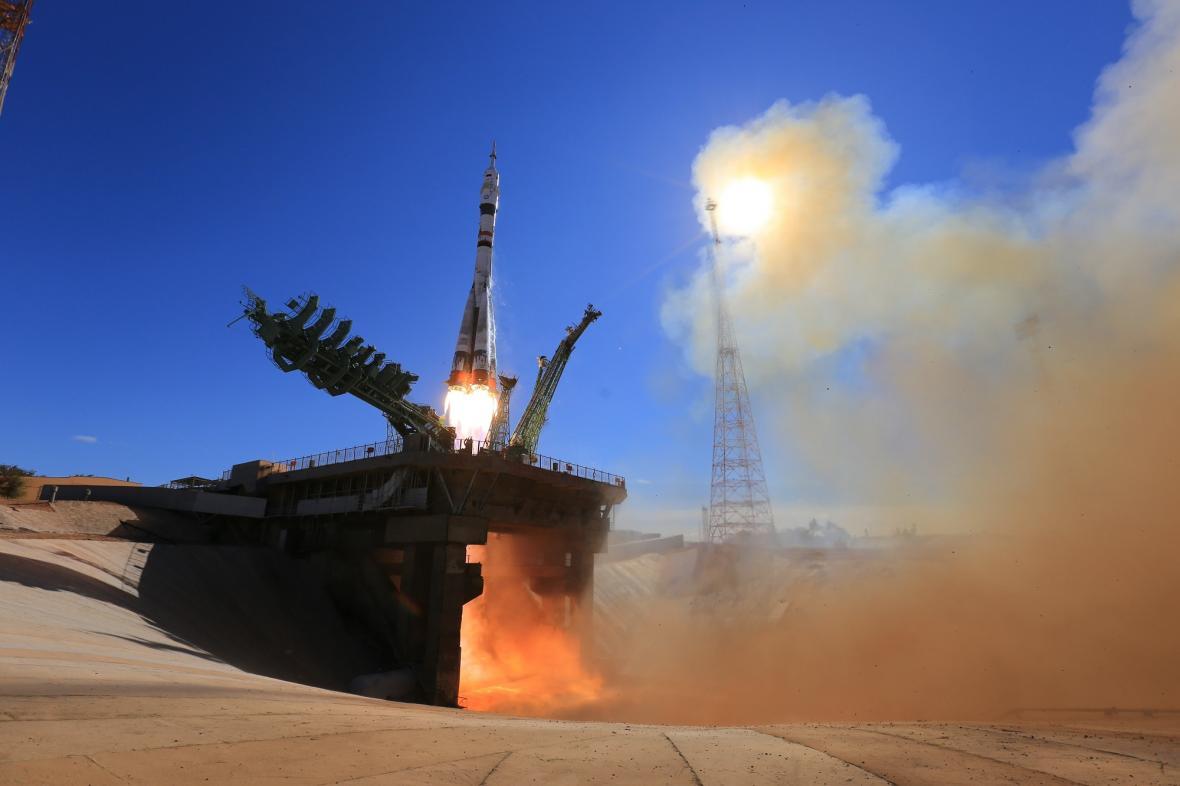 Start ruské rakety