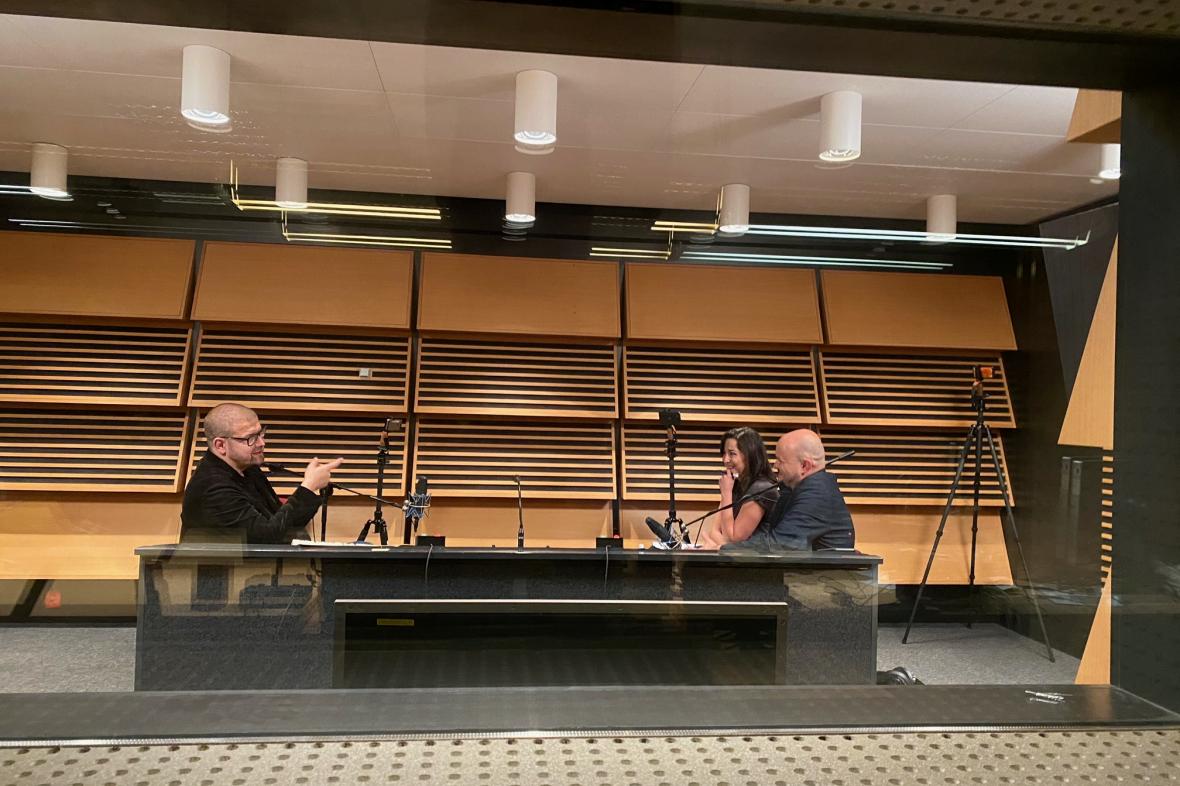Jindřich Šídlo hostem podcastu Background ČT24