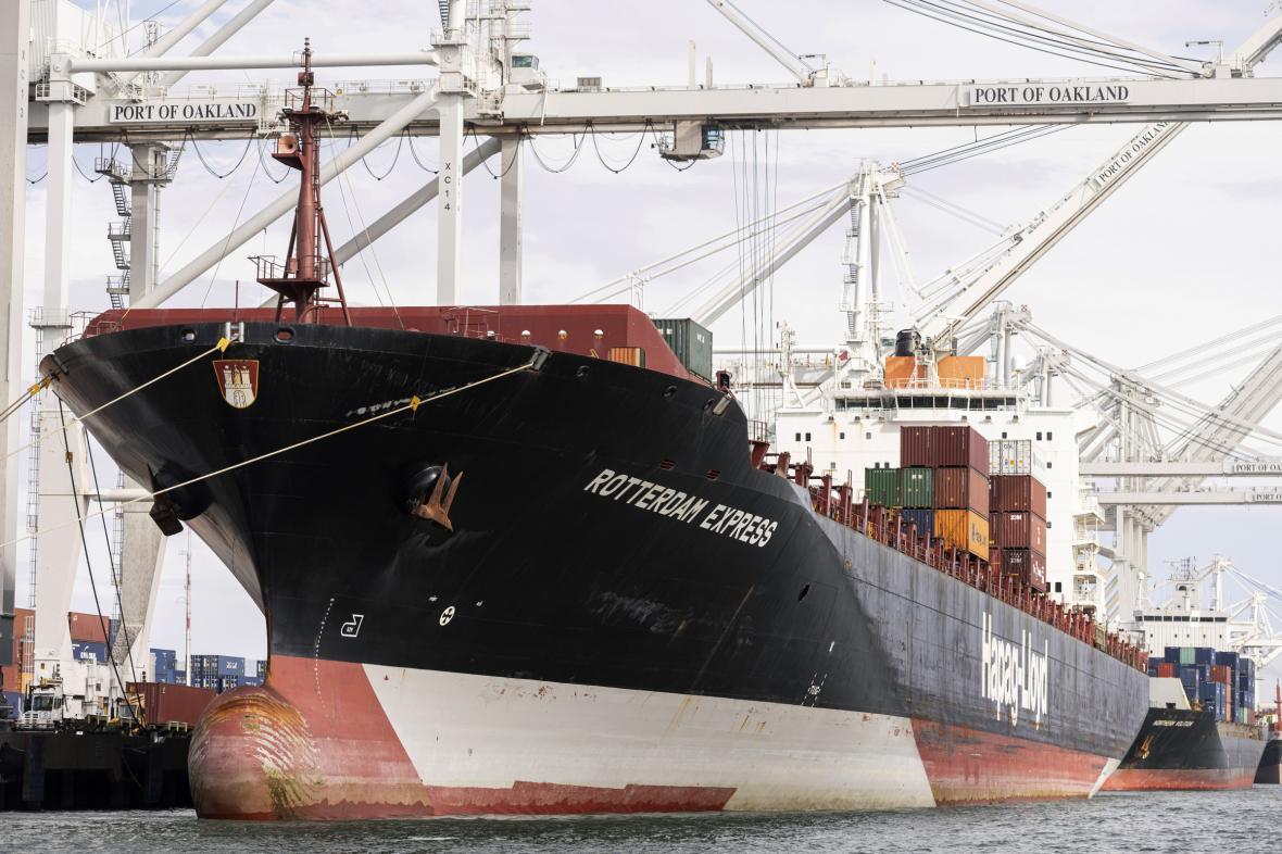 Nákladní loď Rotterdam Express