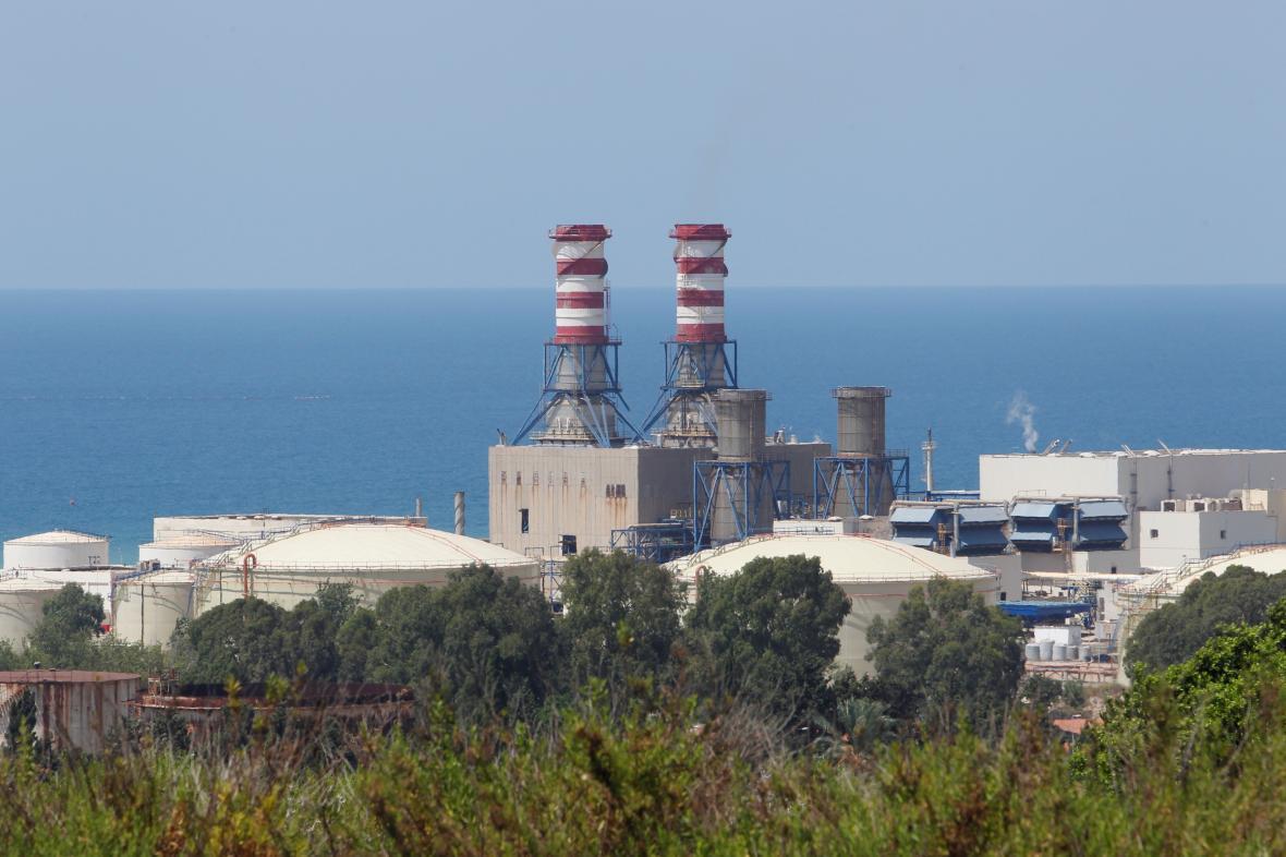Libanonská elektrárna v Zahrání