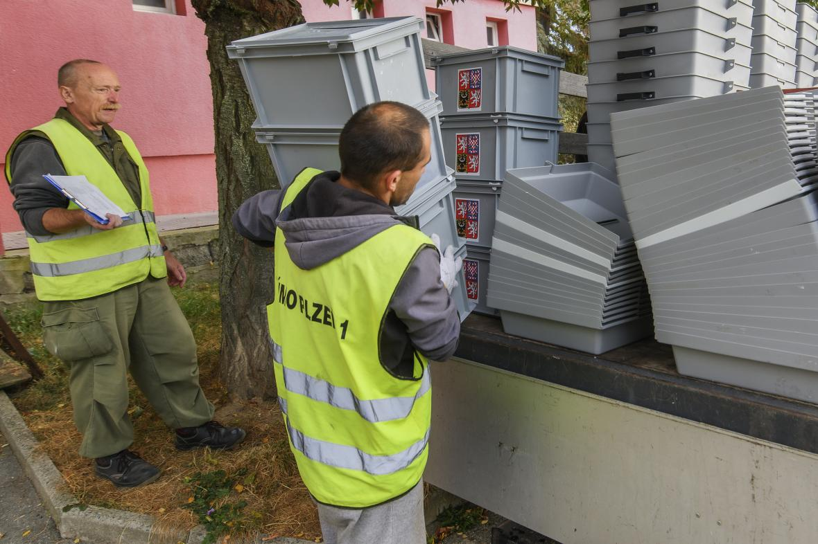 Příprava voleb v Plzni
