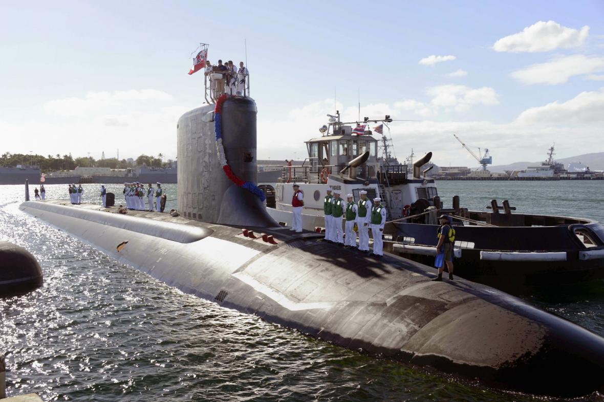 Ponorka typu Virginia amerického námořnictva