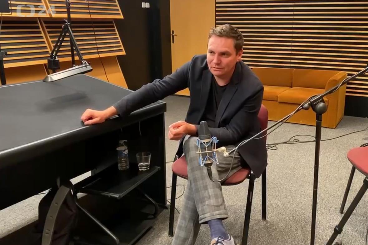 Václav Dolejší hostem podcastu Background ČT24