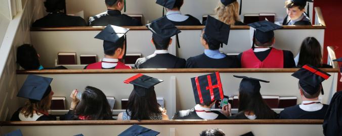Britští studenti