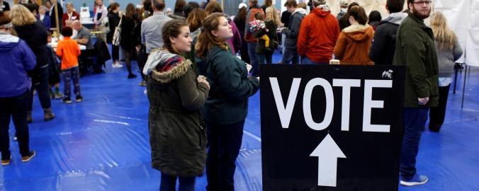 Volby do Kongresu provázel velký zájem americké veřejnosti