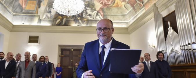 Primátor Českých Budějovic Jiří Svoboda