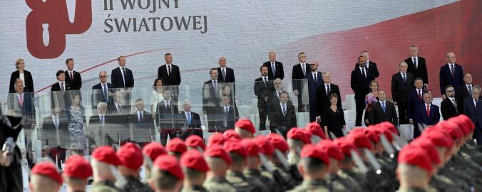 Ceremoniál ve Varšavě