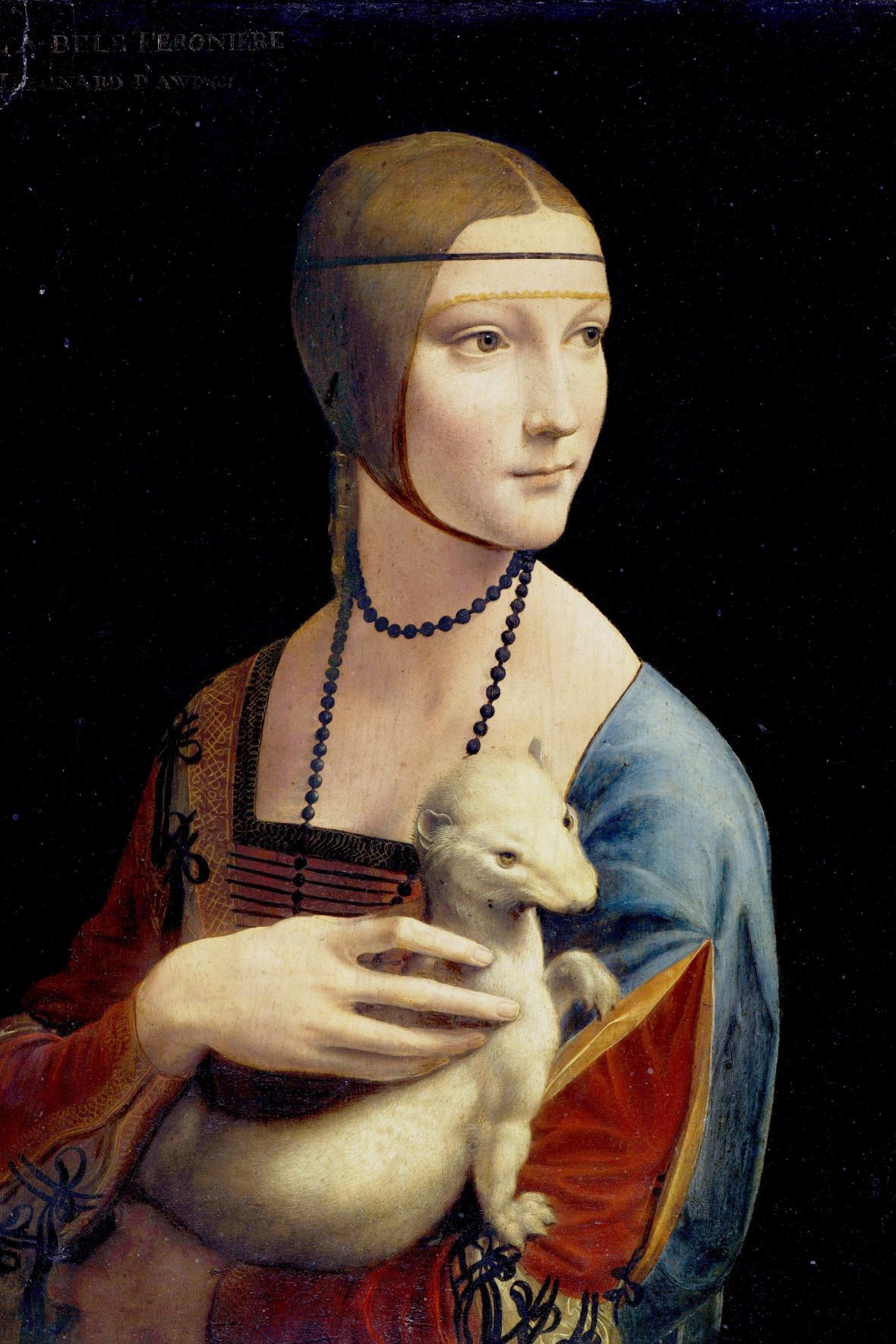 Leonardova Dáma s hranostajem
