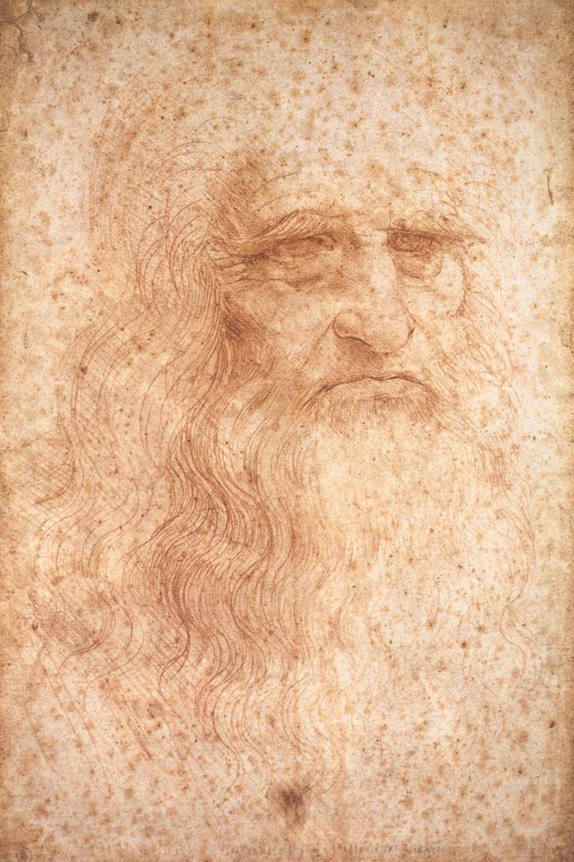 Autoportrét Leonarda da Vinciho