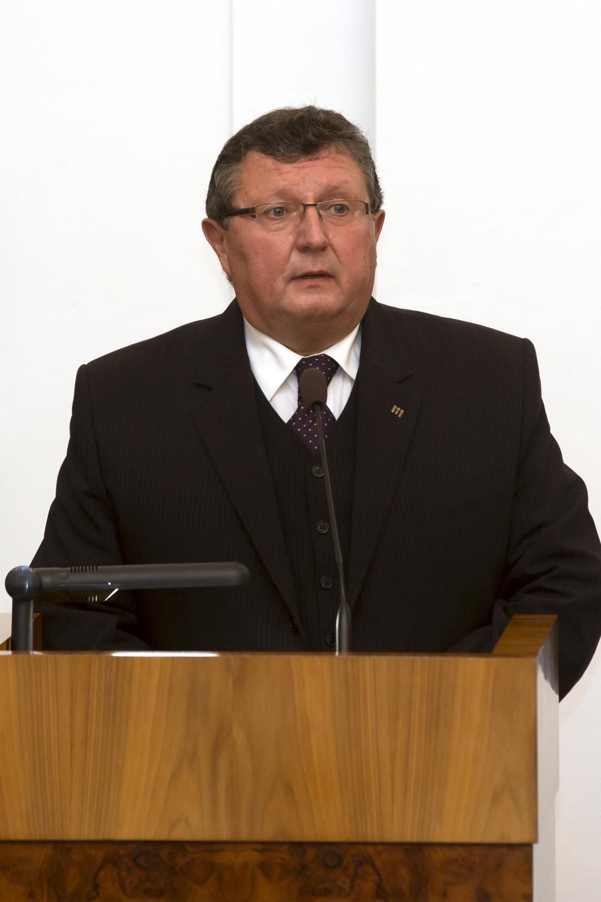 Náměstek primátora Ostravy Ivo Hařovský