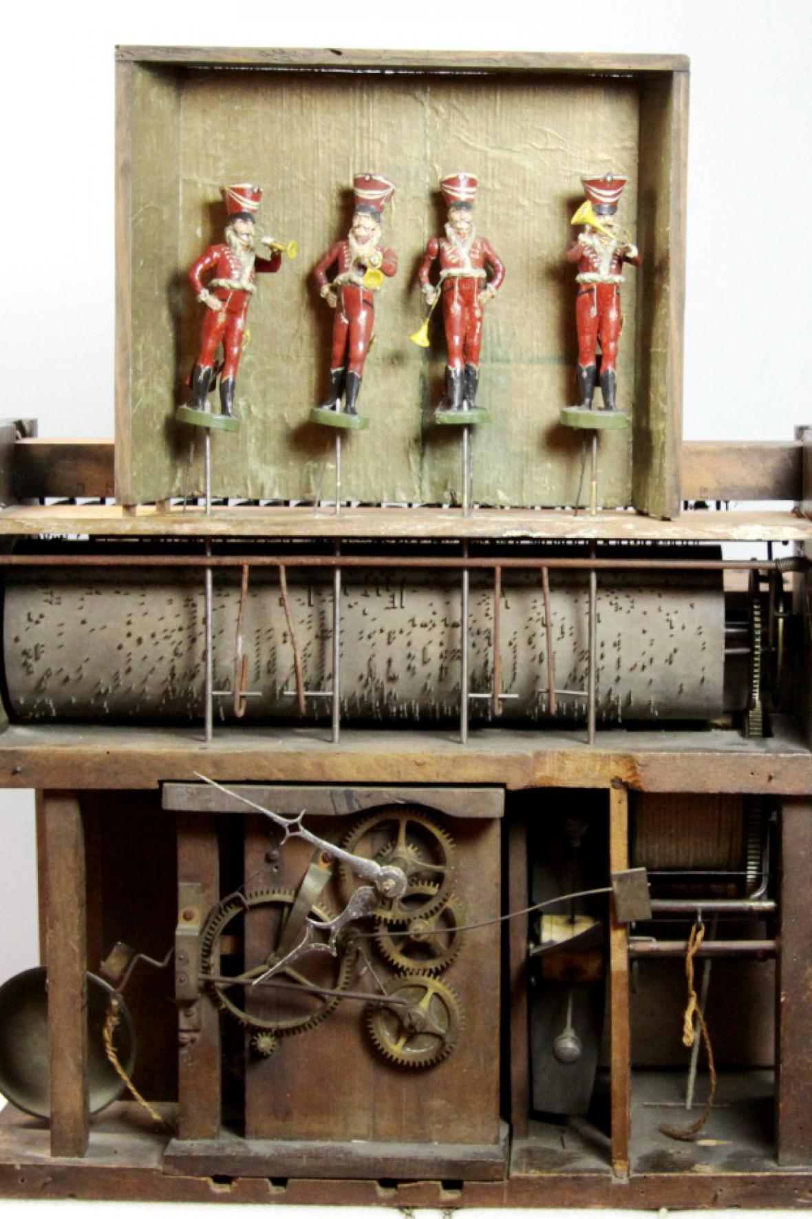 Z výstavy hodin v Krkonošském muzeu v Jilemnici