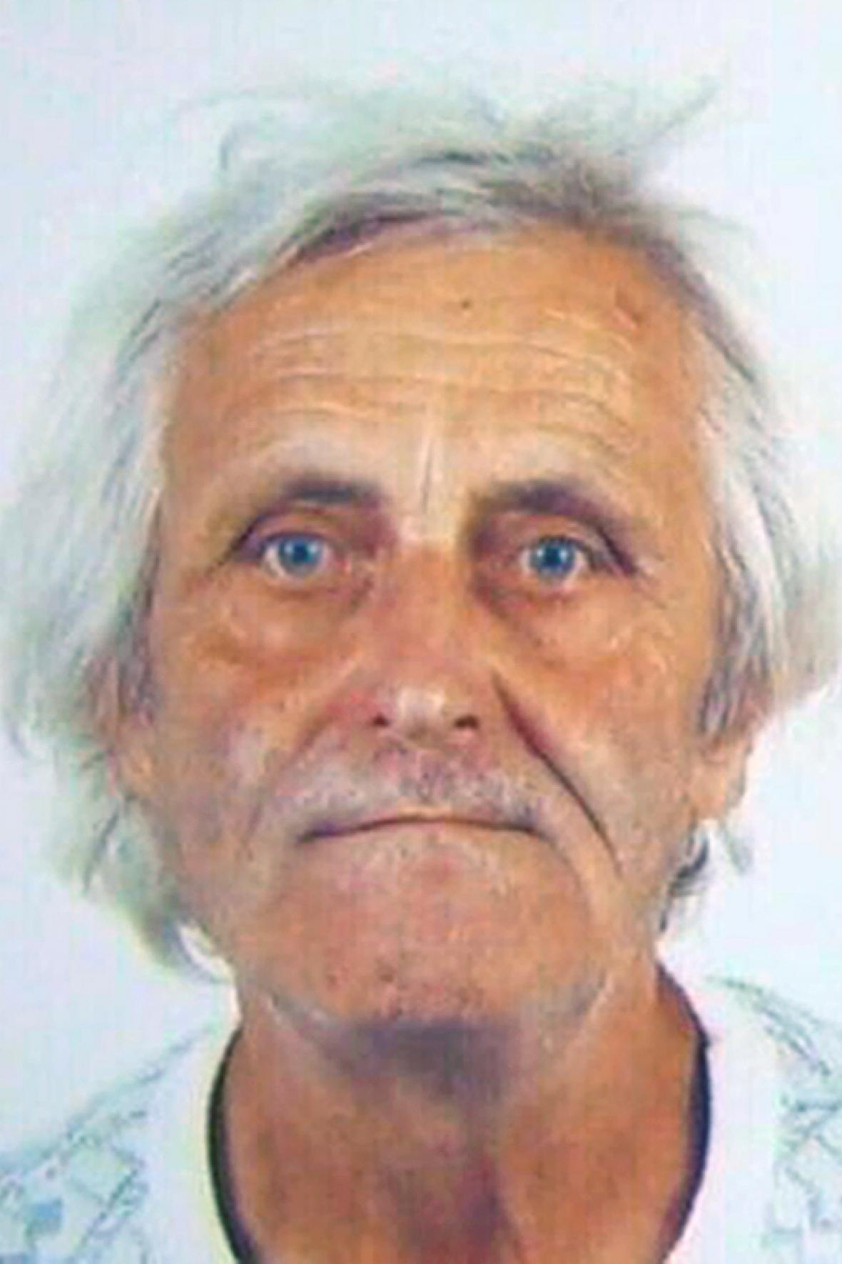 Pohřešovaný Karel Burda