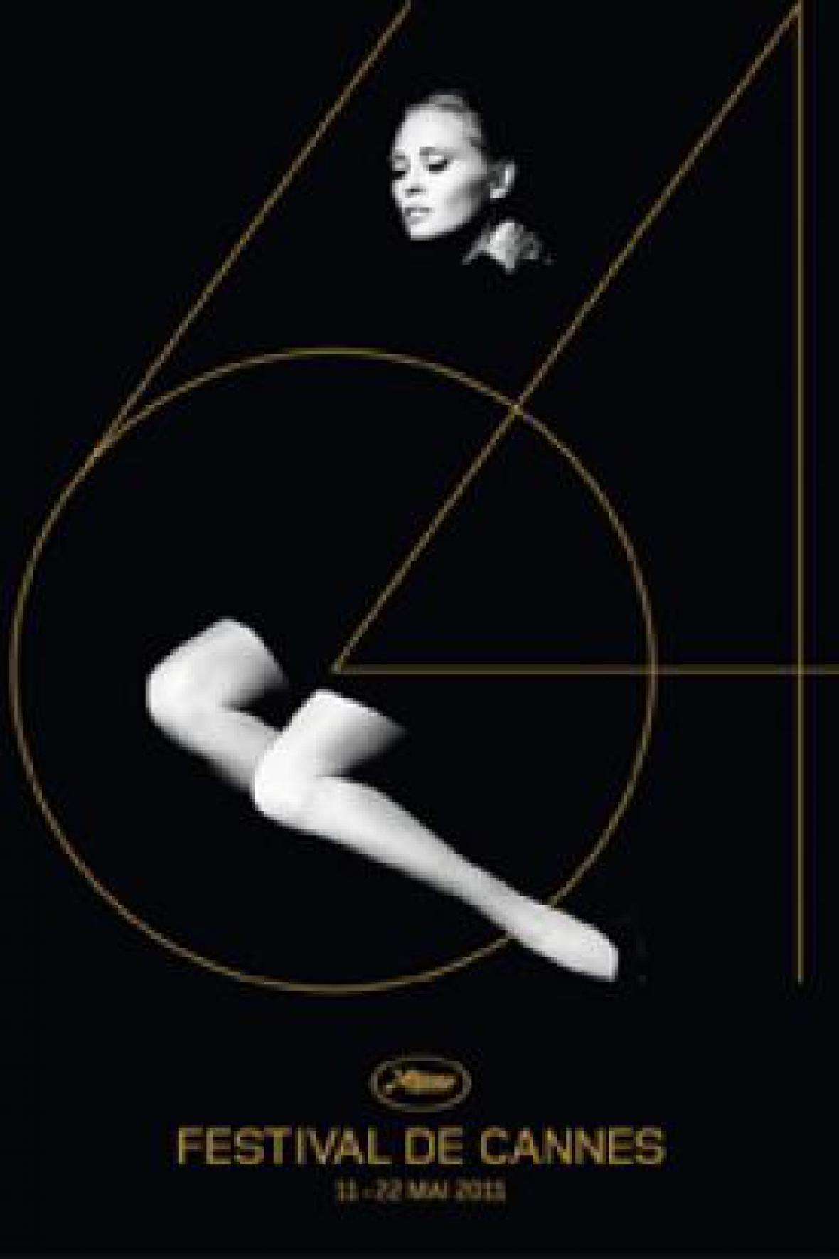 Plakát festivalu v Cannes 2011