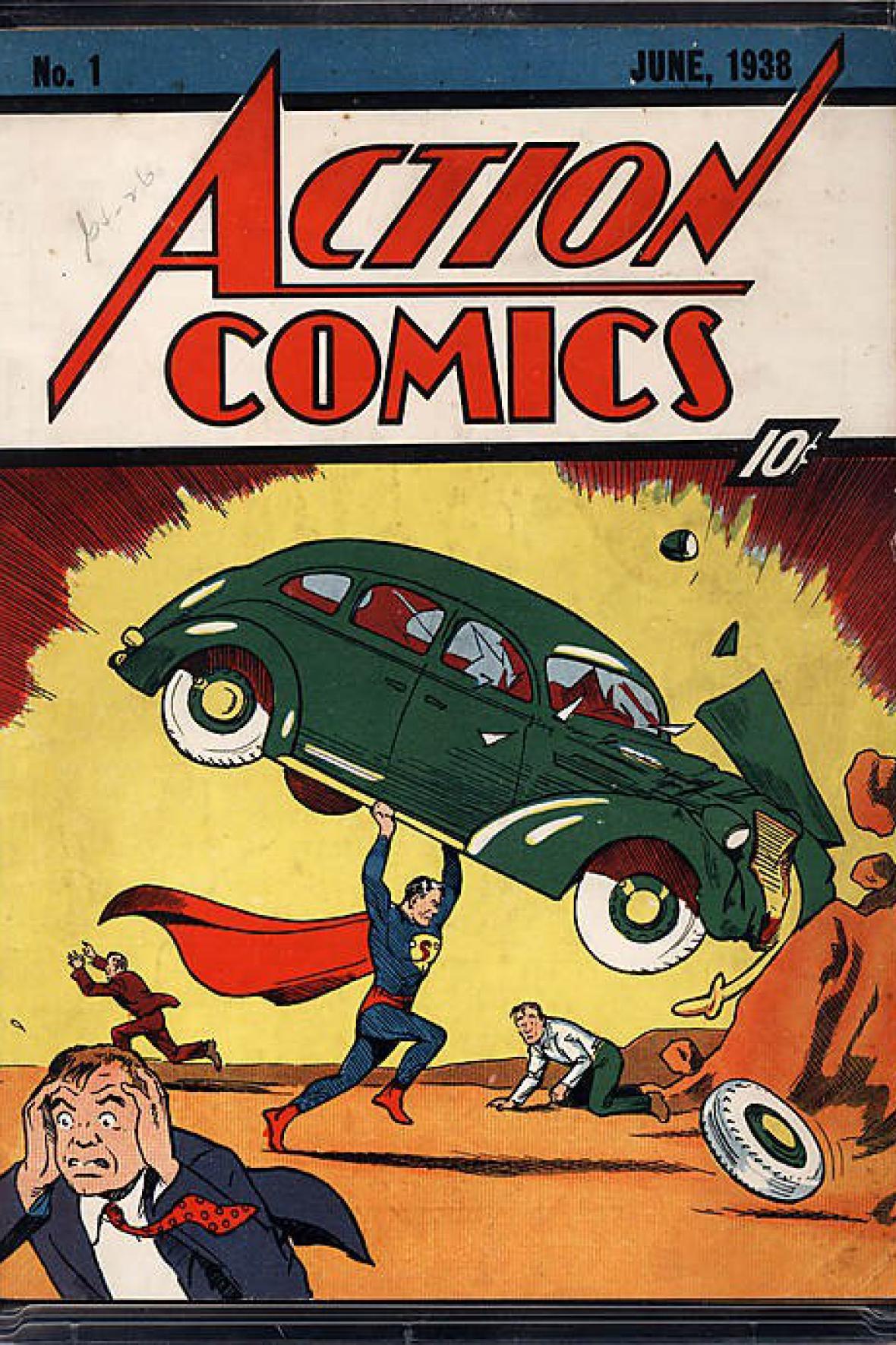 Superman - komiks z roku 1938