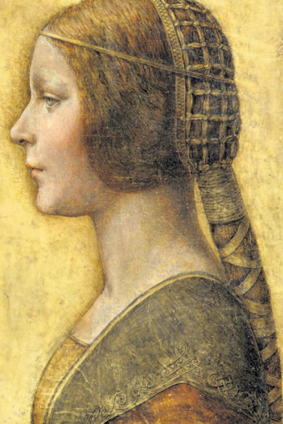 Nově objevený obraz Leonarda da Vinciho