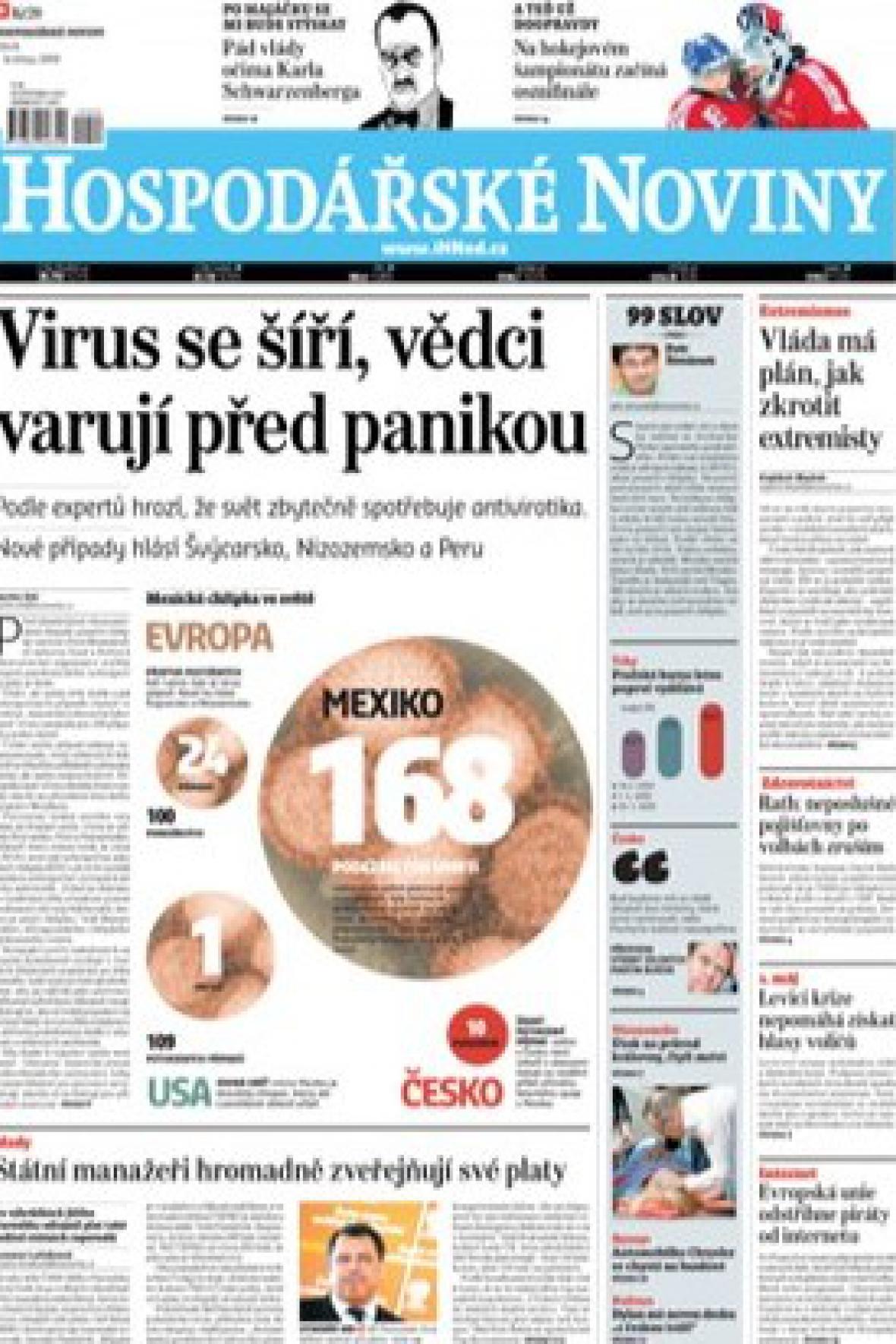 Nový vzhled Hospodářských novin