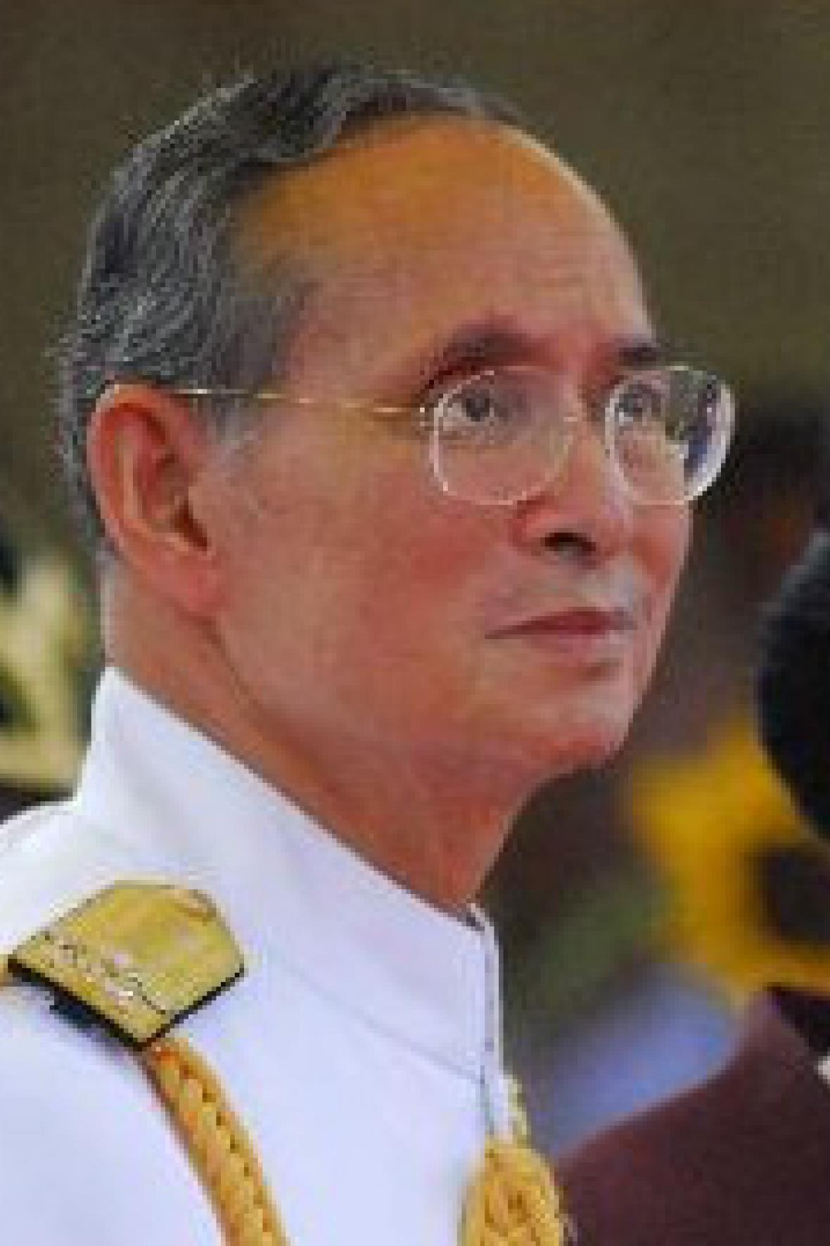Thajský král Pchúmipchon Adundét
