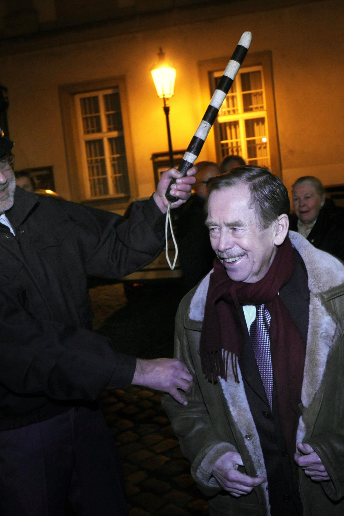 Václav Havel a Jan Ruml