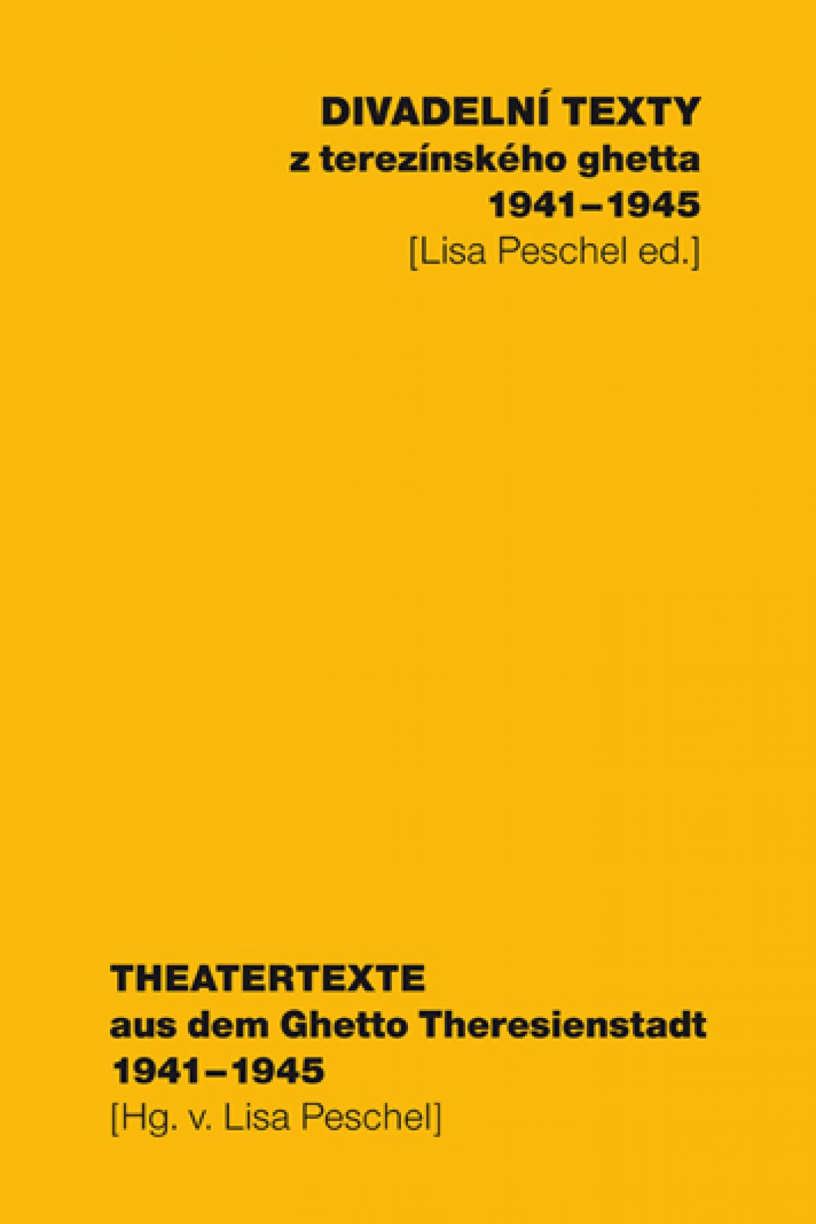 Divadelní texty z terezínského ghetta