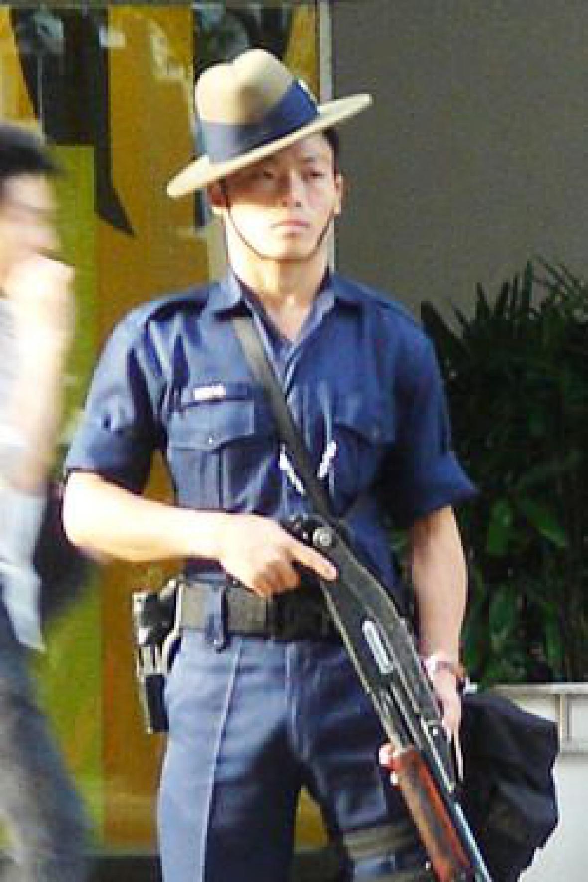 Gurkha u singapurské policie