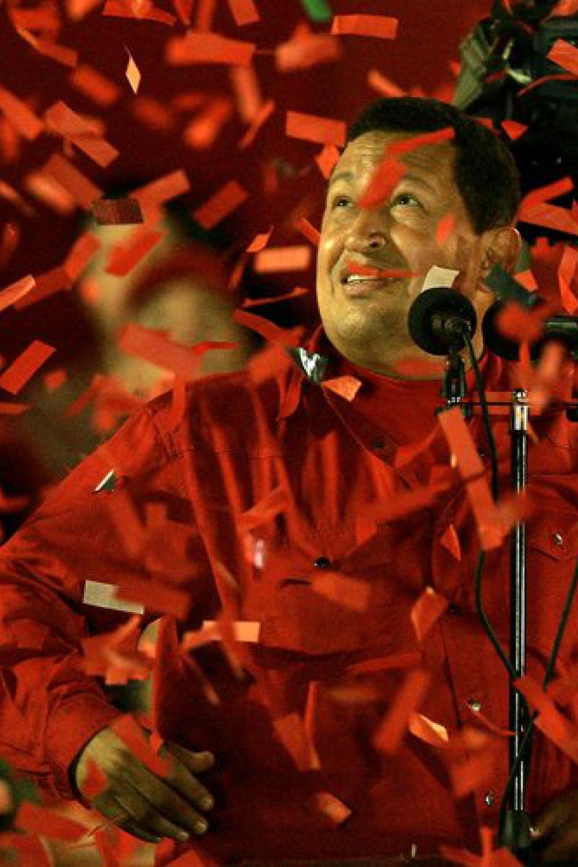 Kouzlo Cháveze