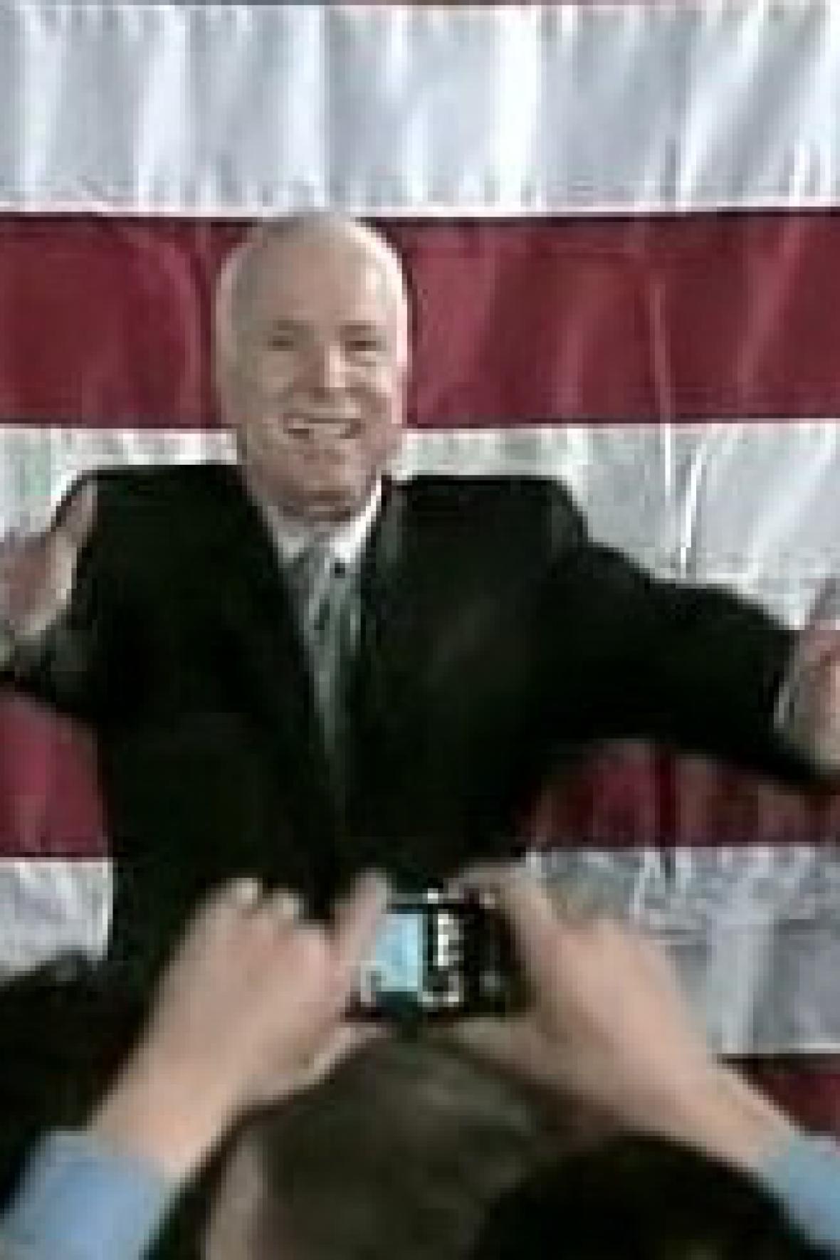 Vítěz John McCain