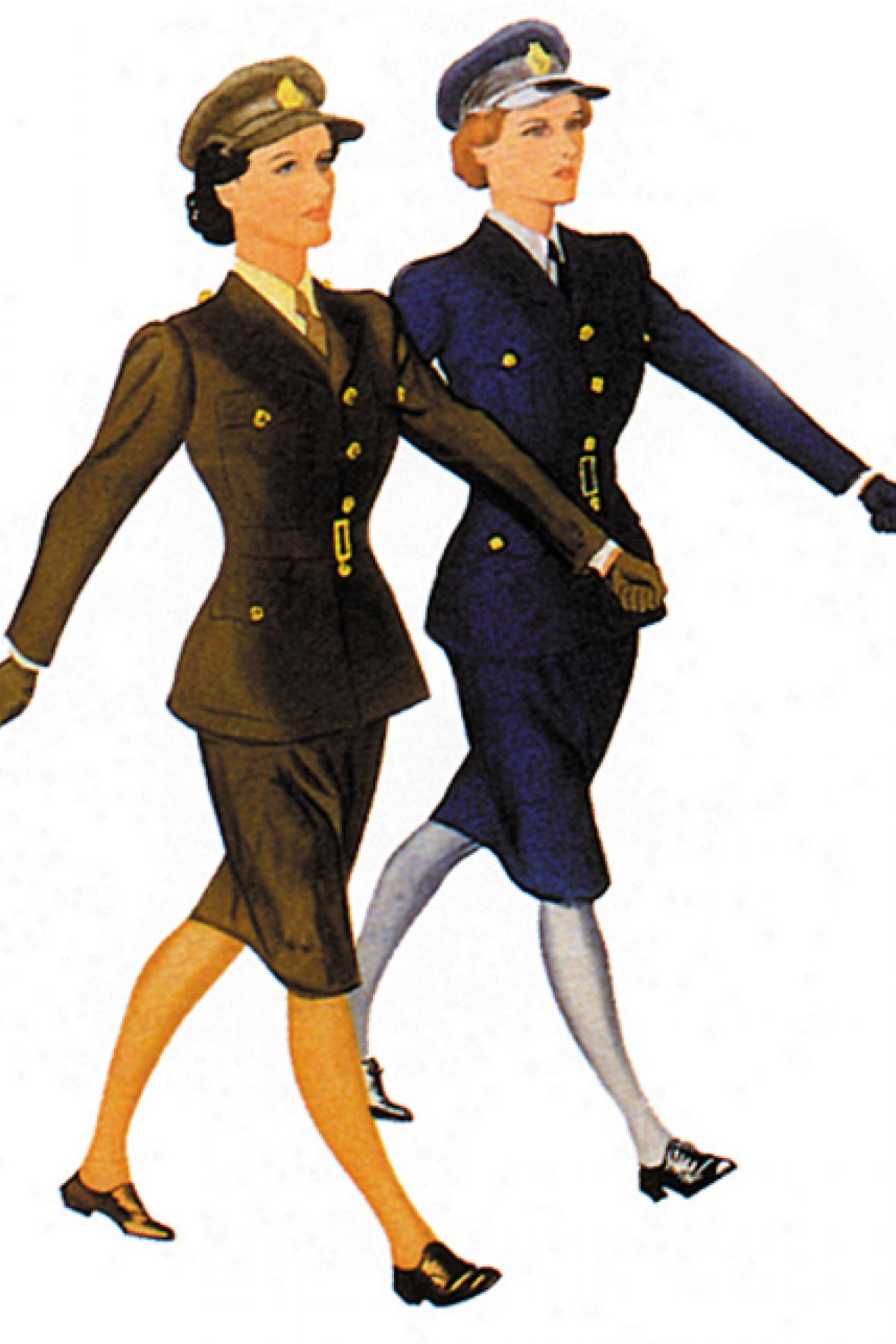Ženy v uniformě