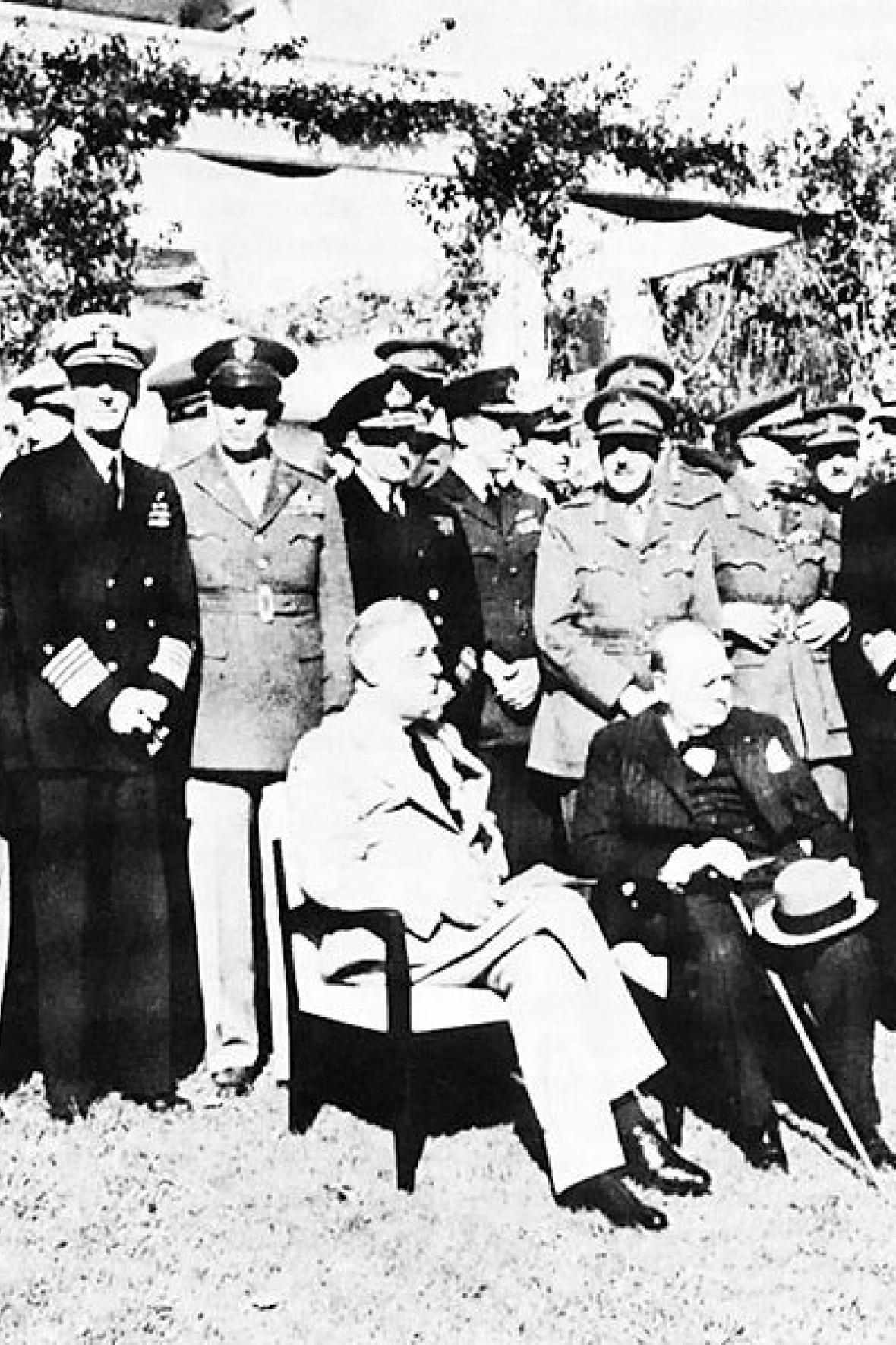 Konference v Casablance