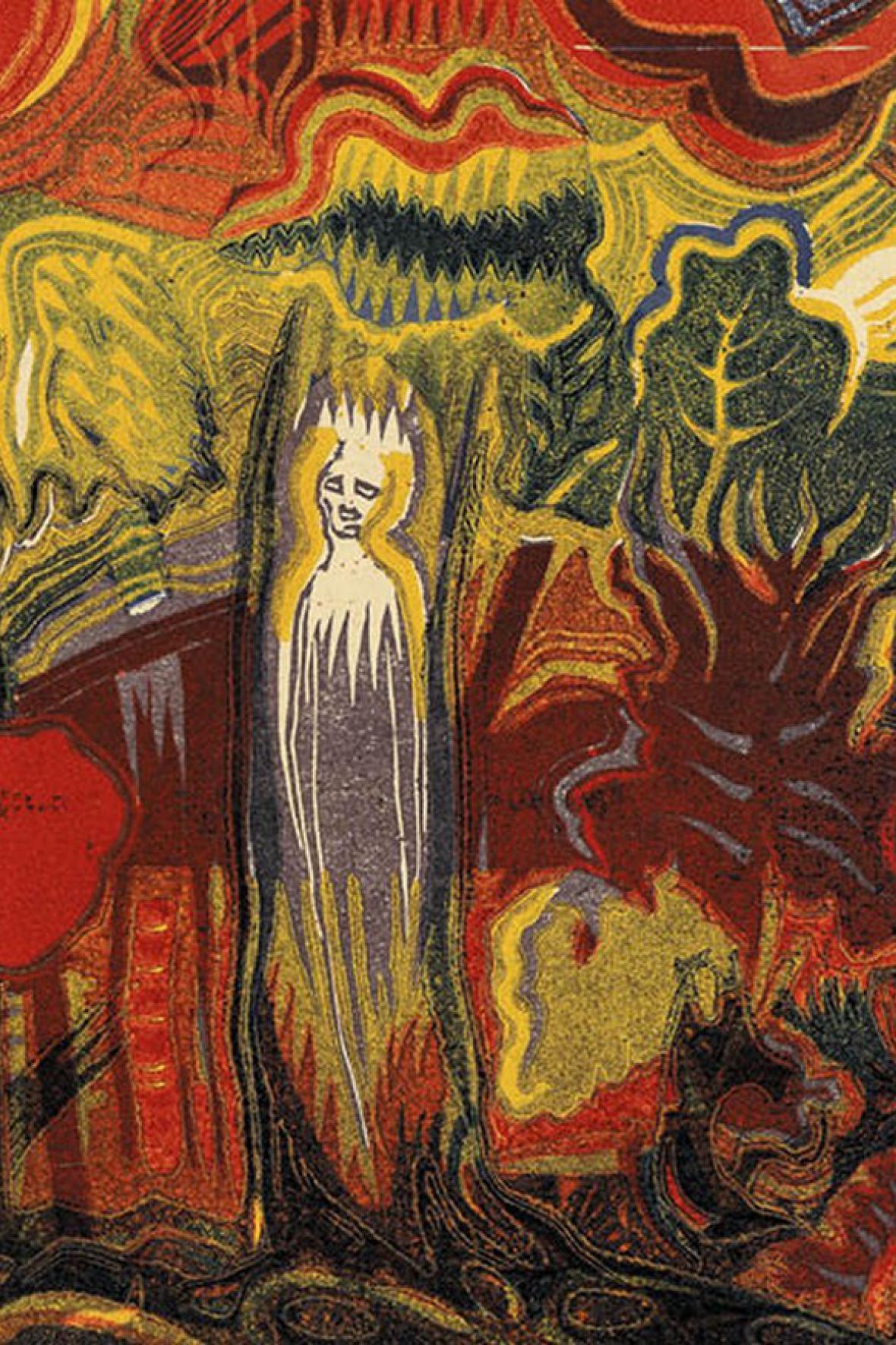 Josef Váchal / Prales (Duše lesa)
