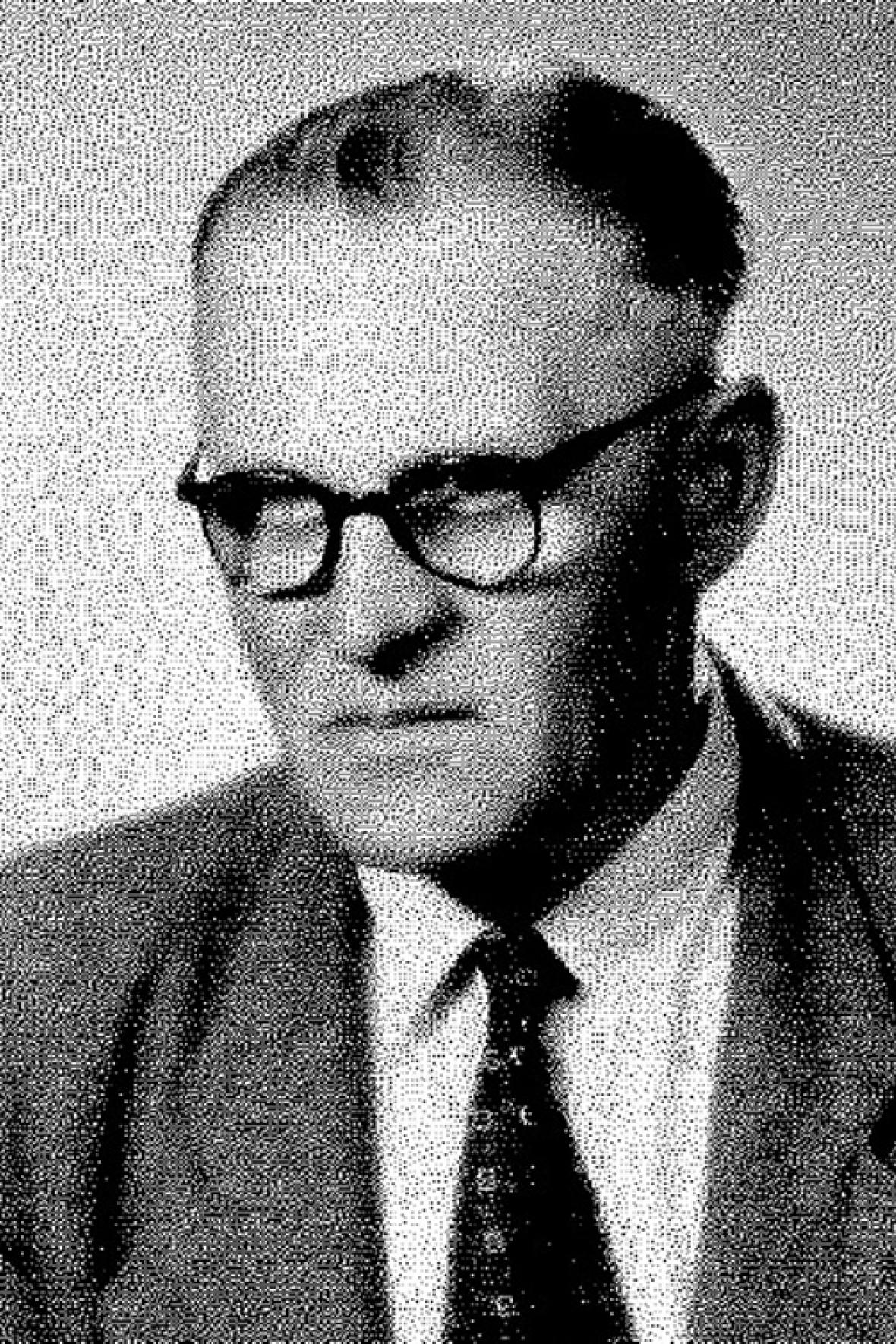 František Šikula na fotografii z roku 1968
