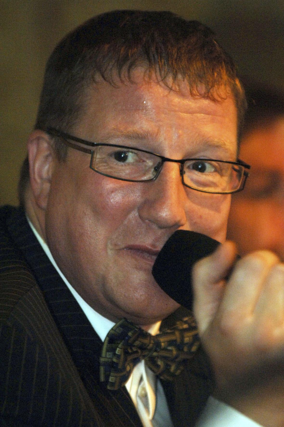 Bývalý primátor Jiří Kittner na archivním snímku z roku 2007