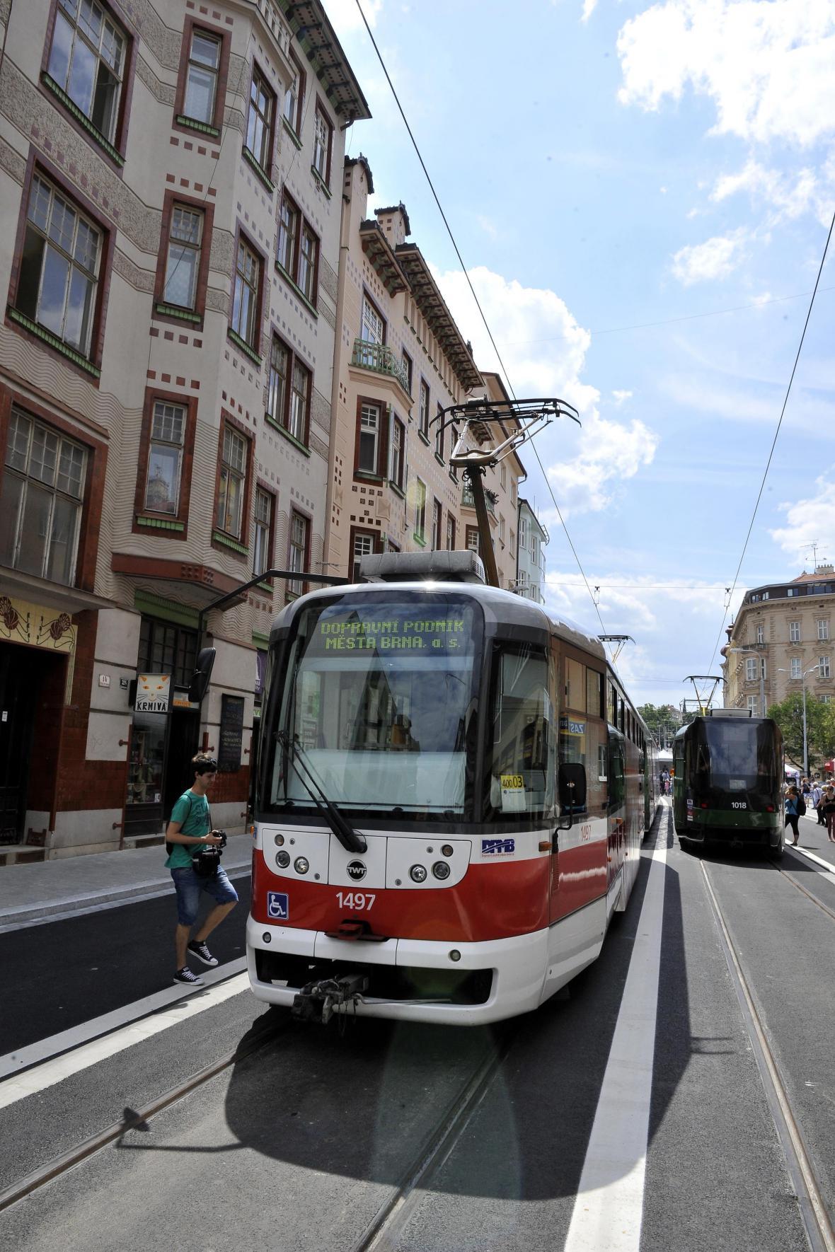 Brno má celkem 303 tramvají