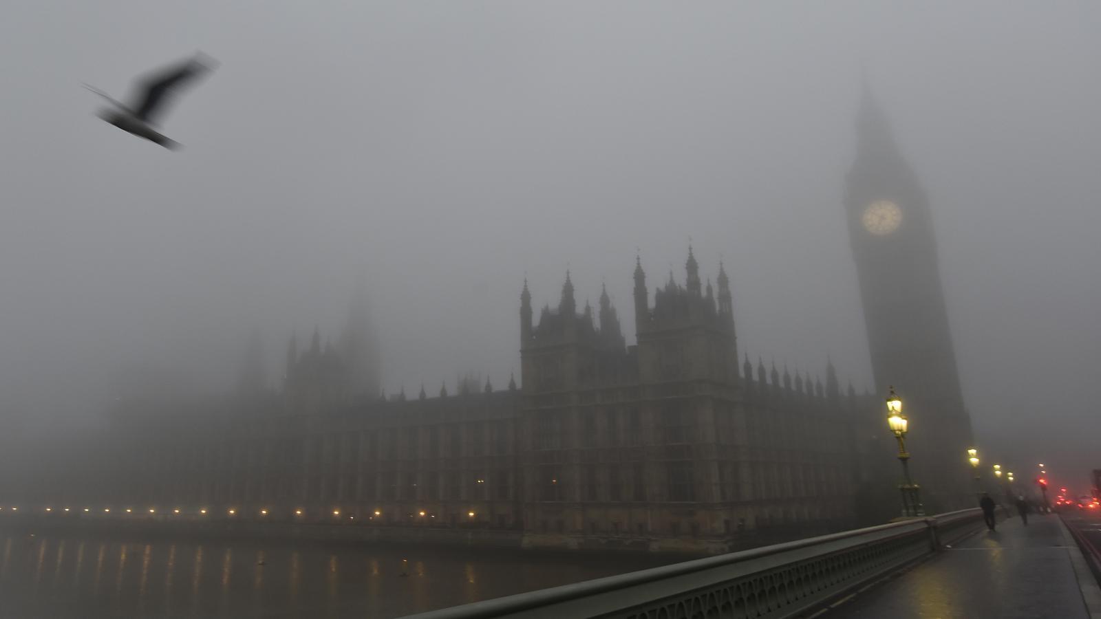 Mlha v Londýně