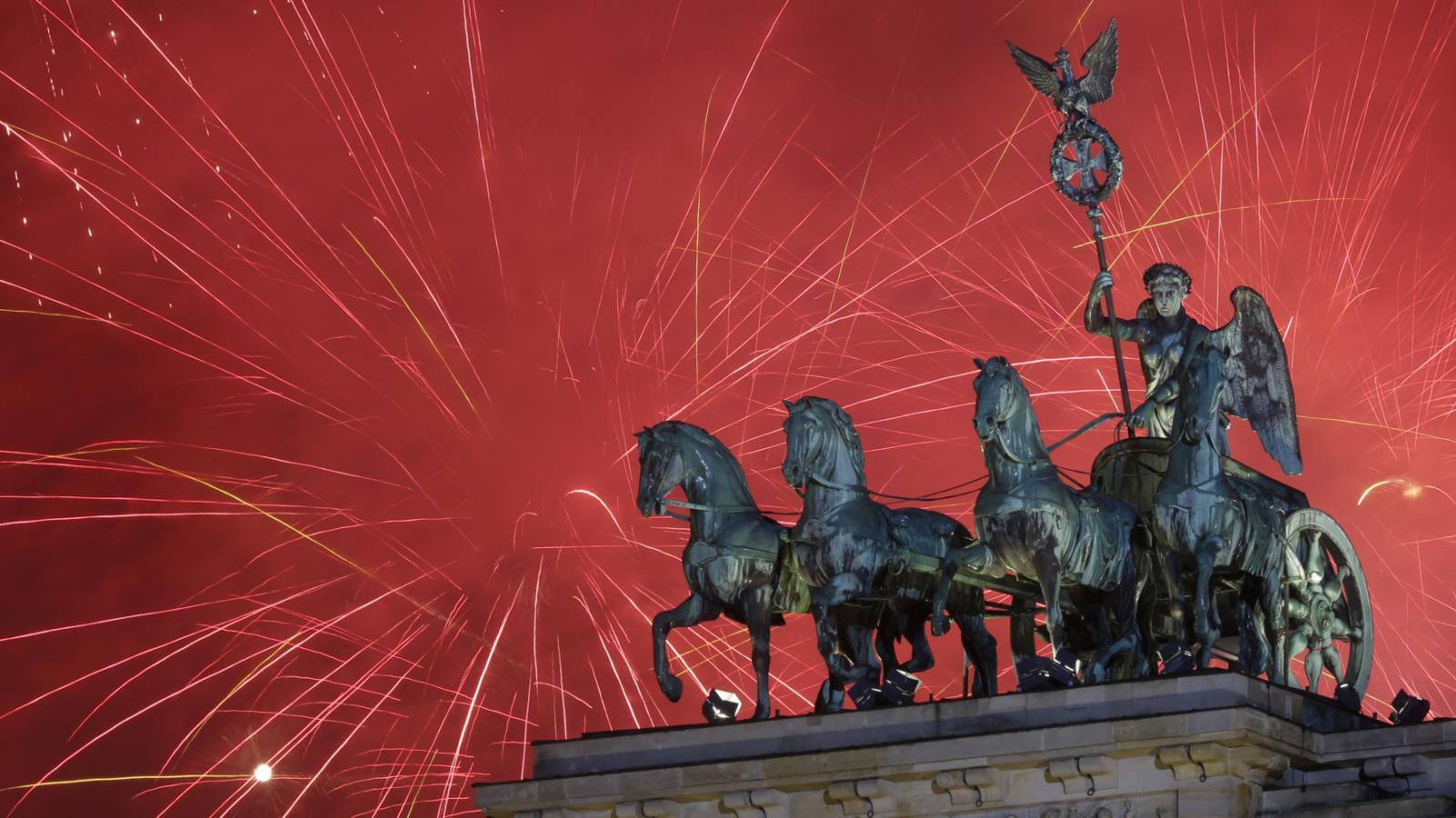 Berlínský ohňostroj