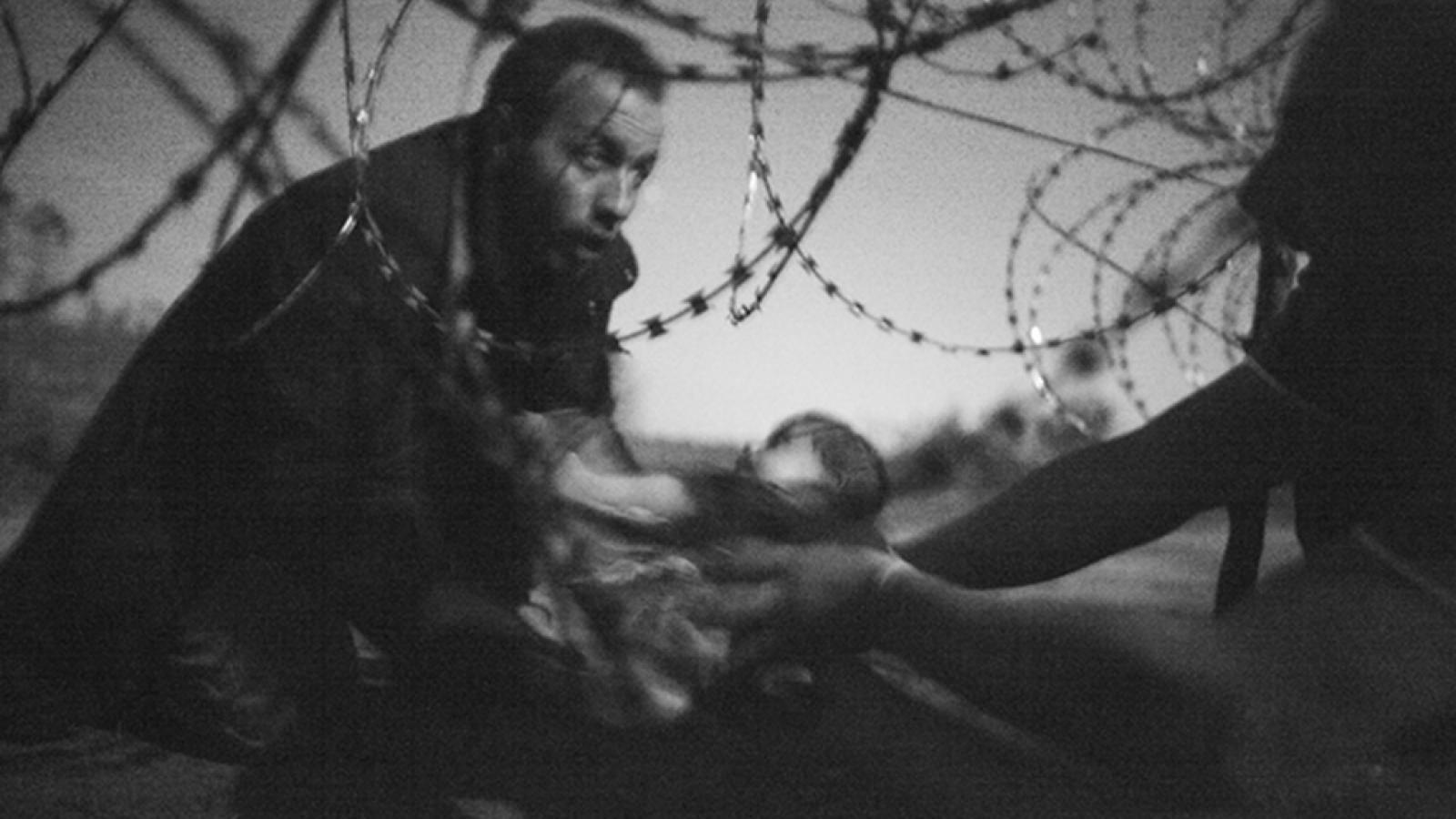 Vítězná fotografie World Press Photo 2015