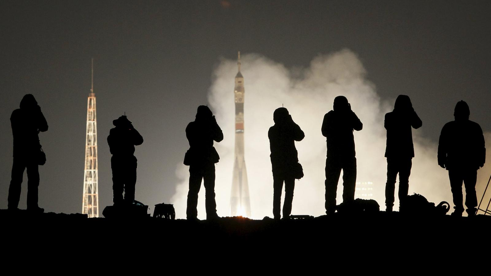 Sojuz míří k Mezinárodní vesmírné stanici (ISS)