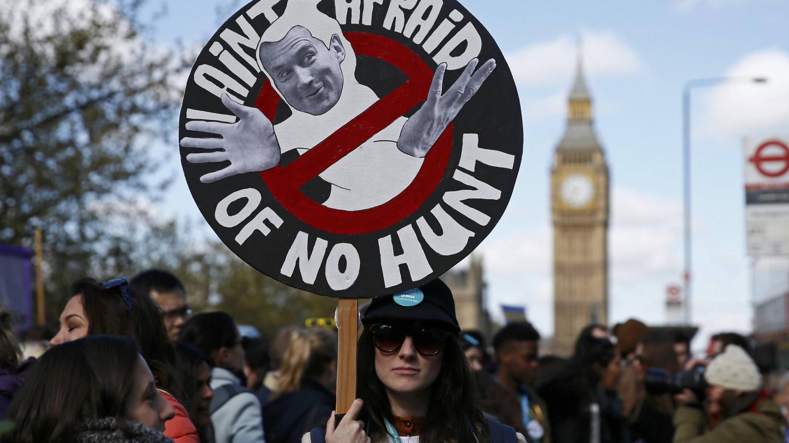 Stávka mladých lékařů v Británii